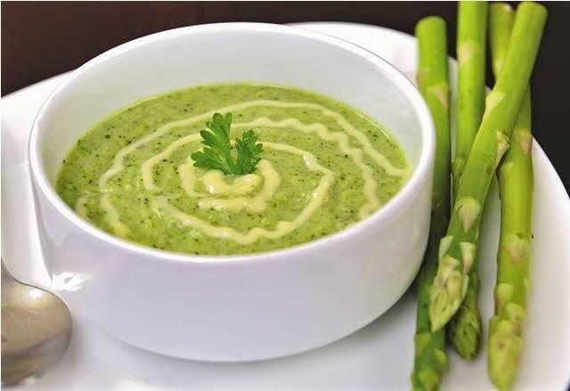 soup mang tay xanh