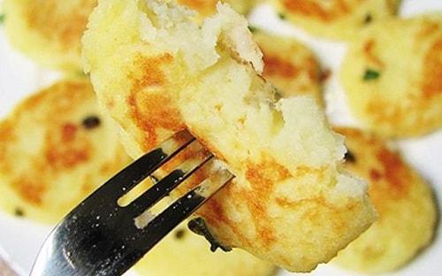 cách làm bánh từ khoai tây