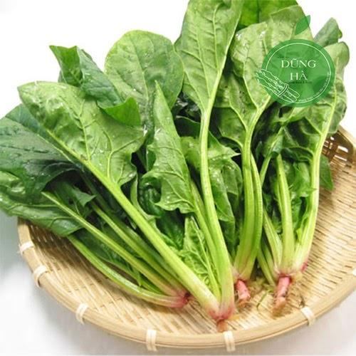 rau chân vịt cho người ăn chay