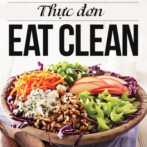 thực đơn eat clean khoa học