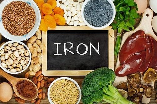 thực phẩm bổ sung trong chế độ ăn cho người thiếu máu
