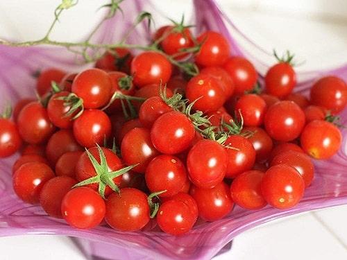 giảm mỡ bụng hiệu quả từ cà chua bi