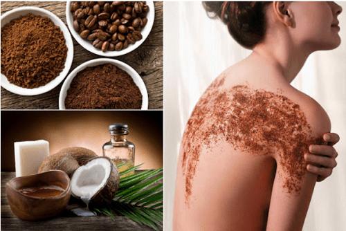 Bột cà phê - bột tắm trắng tự nhiên giúp tăng độ đàn hồi cho da