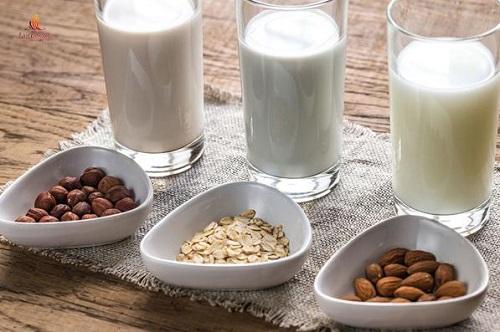 Công dụng của sữa hạt